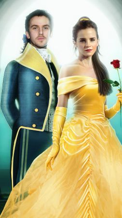 Beauty and the Beast, Emma Watson, Dan Stevens, best movies (vertical)