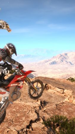 MX Nitro, Motocross, extreme, PC, Xbox one, PS4 (vertical)