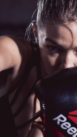 Gigi Hadid, reebok, boxing, Most popular celebs (vertical)