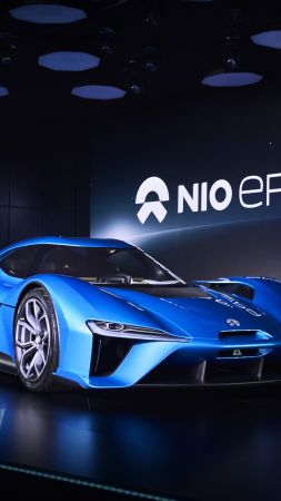 NextEV, NIO EP9, electric cars, sport car (vertical)