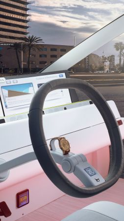 Rinspeed Oasis, CES 2017, self-driving (vertical)