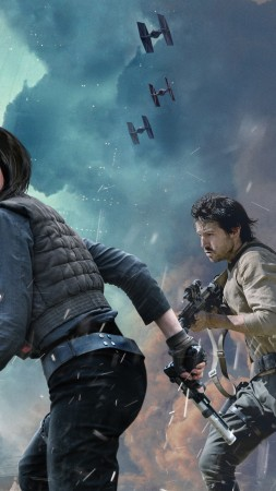 Rogue One: A Star Wars Story, Felicity Jones, Best Movies of 2016 (vertical)