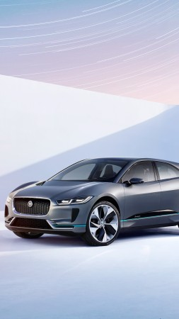 Jaguar I-pace, electric cars, suv, LA Auto Show 2016 (vertical)