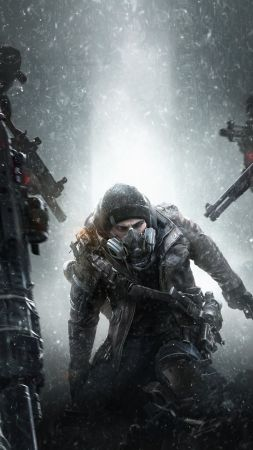 Tom Clancy's The Division survival, PS4, PC, Xbox One (vertical)