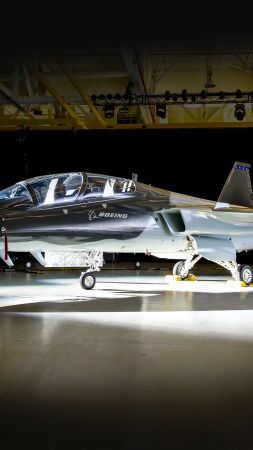 Boeing T-X, fighter aircraft, U.S. Air Force (vertical)