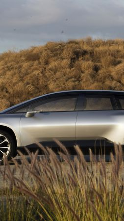 Faraday Future, FF91, electric cars (vertical)