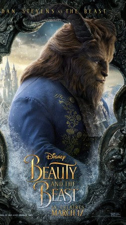 Beauty and the Beast, Evan McGregor, Dan Stevens, life picture, best movies (vertical)