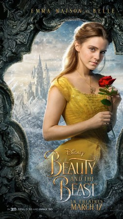 Beauty and the Beast, Emma Watson, Luke Evans, life picture, best movies (vertical)