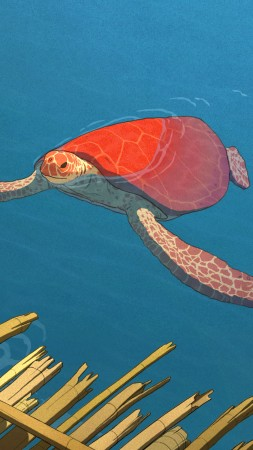 The Red Turtle, La tortue rouge, best animation movies (vertical)