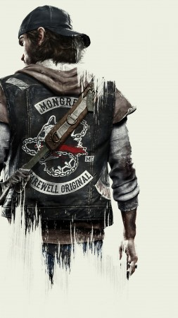 Days Gone, survival horror, PS 4, best games (vertical)