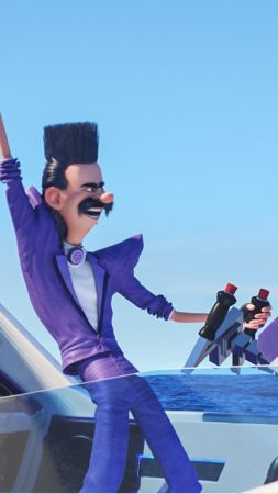 Despicable Me 3, Balthazar Bratt, Trey Parker, best animation movies (vertical)