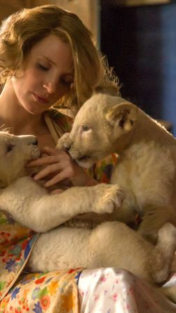 The Zookeeper's Wife, Jessica Chastain, lion, best movies (vertical)
