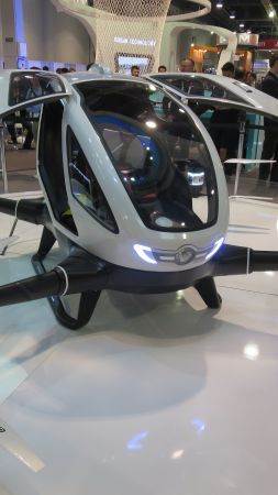 Ehang 184, aerial vehicle, best drones, review