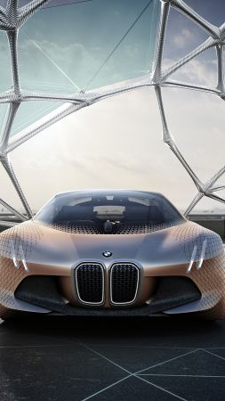 BMW VISION NEXT 100, HD wallpaper, concept, electric car (vertical)