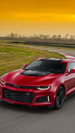 Chevrolet Camaro ZL1, coupe, red