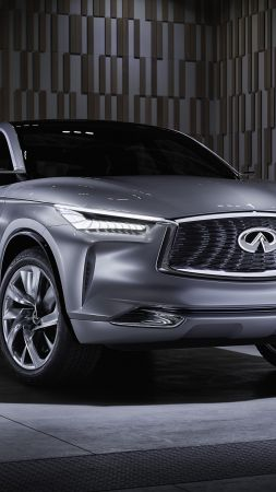 Infiniti QX50, crossover, front, NAIAS 2017 (vertical)