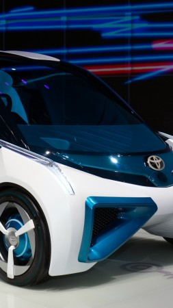 Toyota FCV Plus, electric cars, concept (vertical)
