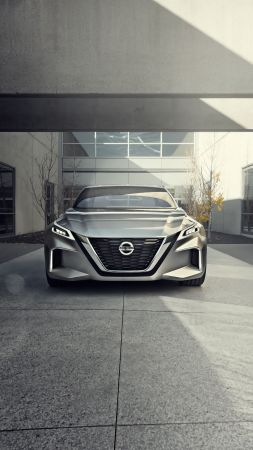 Nissan Vmotion 2.0, concept, front