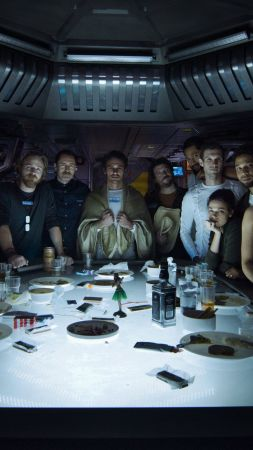 Alien: Covenant, Prologue, Last Supper, cast, best movies (vertical)