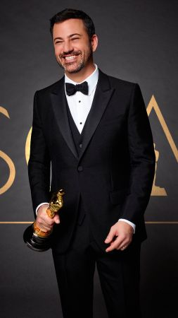 Oscar 2017, Jimmy Kimmel, host, 89th Academy Awards (vertical)
