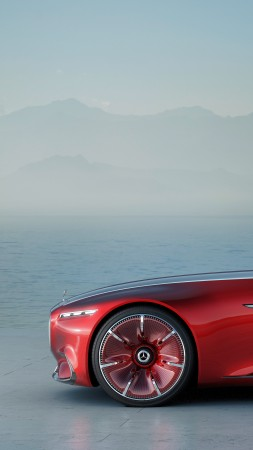 Mercedes-Maybach 6, coupe, concept, side