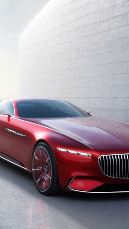 Mercedes-Maybach 6, coupe, concept, front (vertical)