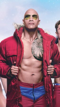 Baywatch, Dwayne Johnson, Zac Efron, best movies (vertical)