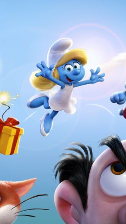 Smurfs: The Lost Village, Ariel Winter, Julia Roberts, best animation movies (vertical)