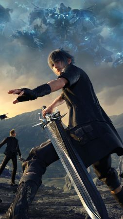 Final Fantasy 15, Episode Gladiolus, xbox one, PC, PS4