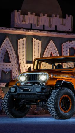 Jeep CJ66, Jeep Wrangler, SUV, front (vertical)