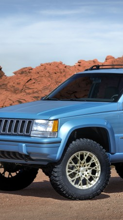 Jeep Grand One, SUV, concept (vertical)
