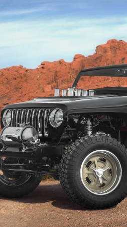 Jeep Quicksand, Jeep Wrangler, concept, SUV (vertical)