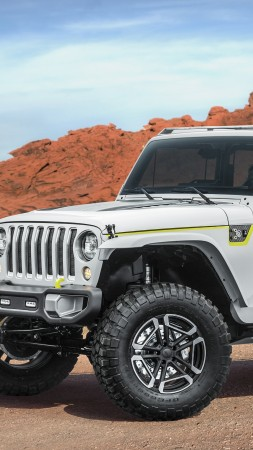 Jeep Safari, Jeep Wrangler, concept, SUV (vertical)