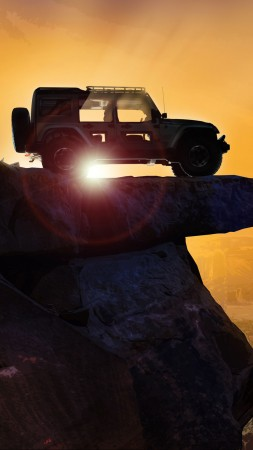 Jeep Switchback, HD wallpaper, Jeep Wrangler, SUV, concept (vertical)