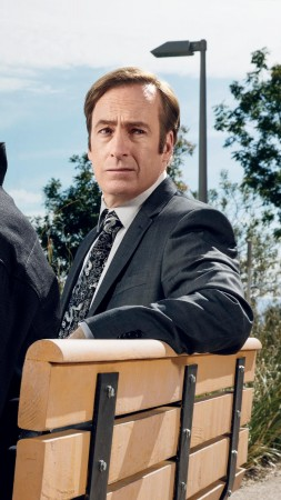 Better Call Saul, season 3, Bob Odenkirk, Jonathan Banks, best tv series (vertical)