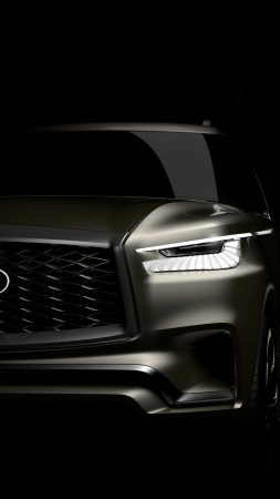 Infiniti QX80 Monograph, crossover, concept, 2017 New York Auto Show (vertical)