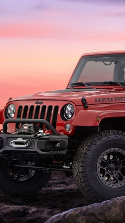 Jeep Red Rock, Jeep Wrangler, SUV (vertical)
