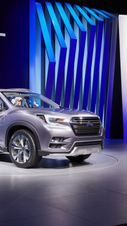 Subaru Ascent, concept, 2017 New York Auto Show (vertical)