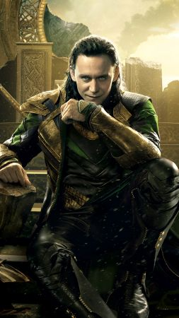 Thor: Ragnarok, Loki, Marvel, Tom Hiddleston, best movies (vertical)