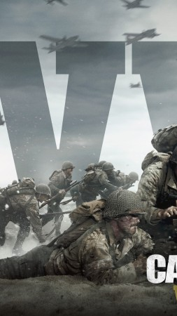Call of Duty: WW2, 4k, 5k, poster, E3 2017 (vertical)
