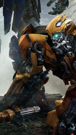 Transformers: The Last Knight, Transformers 5, Bumblebee, best movies (vertical)
