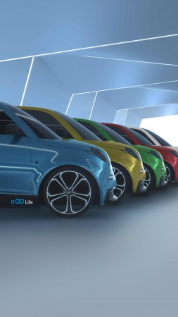 e.GO Life, electric cars, concept, eco friendly (vertical)