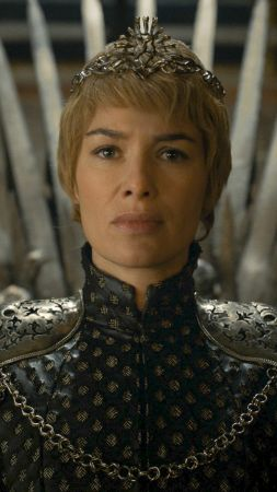 Game of Thrones, Cersei, Lena Headey, iron throne, best tv series (vertical)