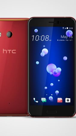 HTC U11, Solar Red, best smartphones (vertical)