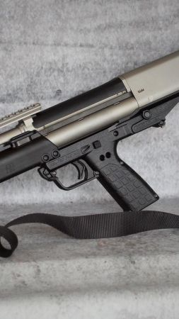 Kel-Tec KSG 10, shotgun, custom (vertical)