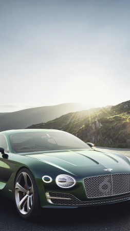 Bentley EXP12 Speed 6e, 4k, 8k, green (vertical)