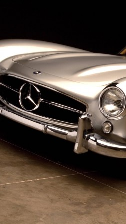 Mercedes Benz 300 SL, HD, 4k, Swiss Classic World (vertical)
