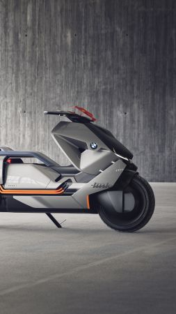 BMW Motorrad, Concept Link, Electric bike, HD, 4k (vertical)