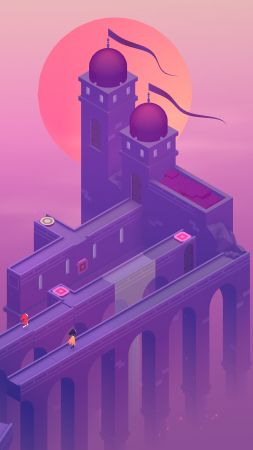 Monument Valley 2, 4k, screenshot (vertical)