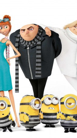 Despicable Me 3, Dru, 4k, poster (vertical)